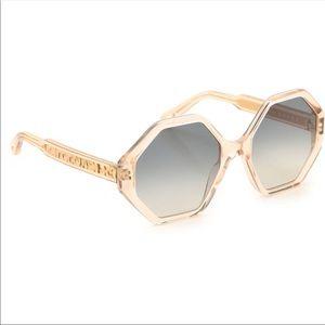 NWT Chloe Willow 55mm Geo Sunglasses